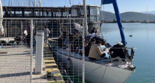 Συνελήφθη ιστιοπλοϊκό με μετανάστες στη Λευκάδα