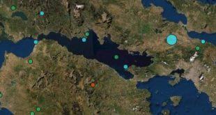 Σεισμός πριν από λίγο, αισθητός στην Αθήνα