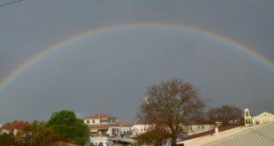 Η φωτο της ημέρας: Ουράνιο τόξο πάνω απ΄ την πόλη!