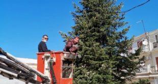 Φωταγώγηση Χριστουγεννιάτικου Δένδρου πλατείας