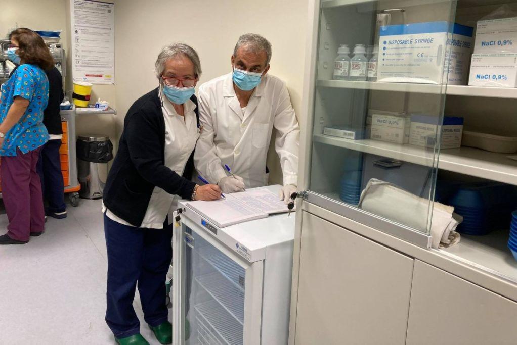 Χωρίς απρόοπτα ξεκίνησαν οι εμβολιασμοί στο ΓΝΛ