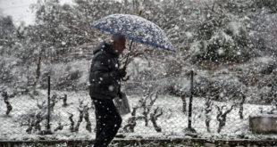 """Χιονοπτώσεις & πολικές θερμοκρασίες από τον """"Λέανδρο"""""""