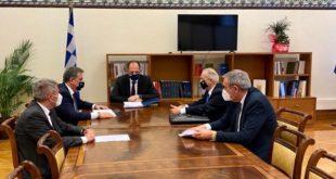 Συνάντηση των βουλευτών Ι. Ν. της Ν Δ με Υπουργό Επικρατείας