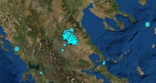 Ημέρα τρόμου σήμερα από τους σεισμούς στην Θεσσαλία