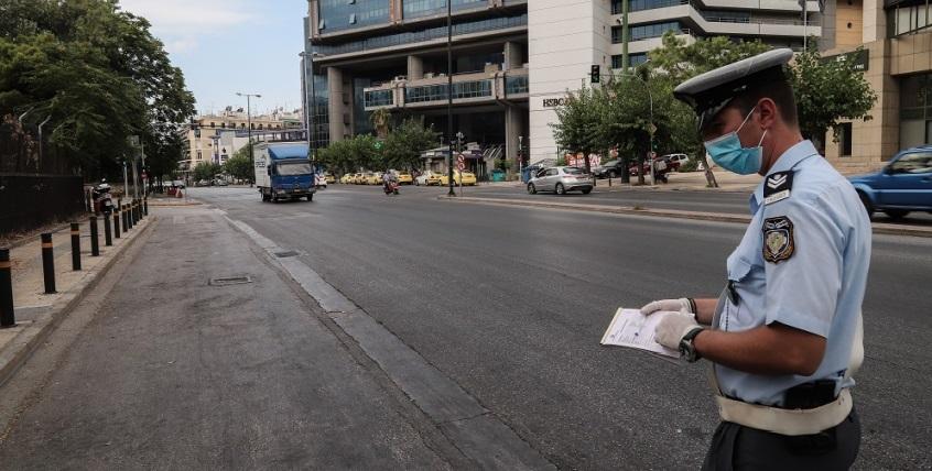Δέκα οι παραβάσεις πρόστιμα χθες στη Λευκάδα για τα μέτρα
