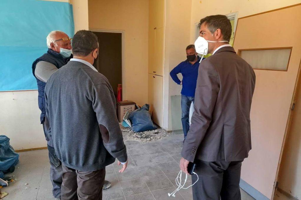 Ξεκίνησαν οι εργασίες στο 5ο Νηπιαγωγείο Λευκάδας