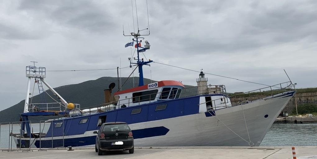 Συνελήφθη Αλβανικό ψαράδικο για παράνομη αλιεία