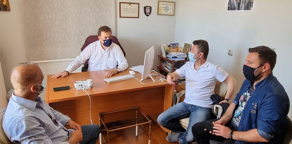 Συνάντηση του βουλευτή με προεδρείο της Ένωσης Αστυνομικών