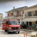 Υπό έλεγχο η φωτιά στο σπίτι της οδού Αγ. Αντωνίου