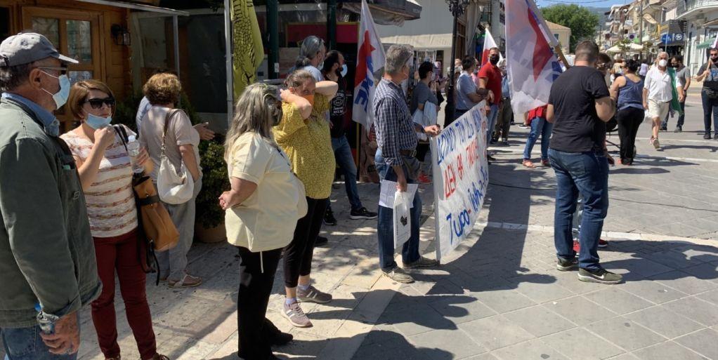 Όχι στο αντεργατικό Νομοσχέδιο βροντοφώναξαν οι απεργοί!