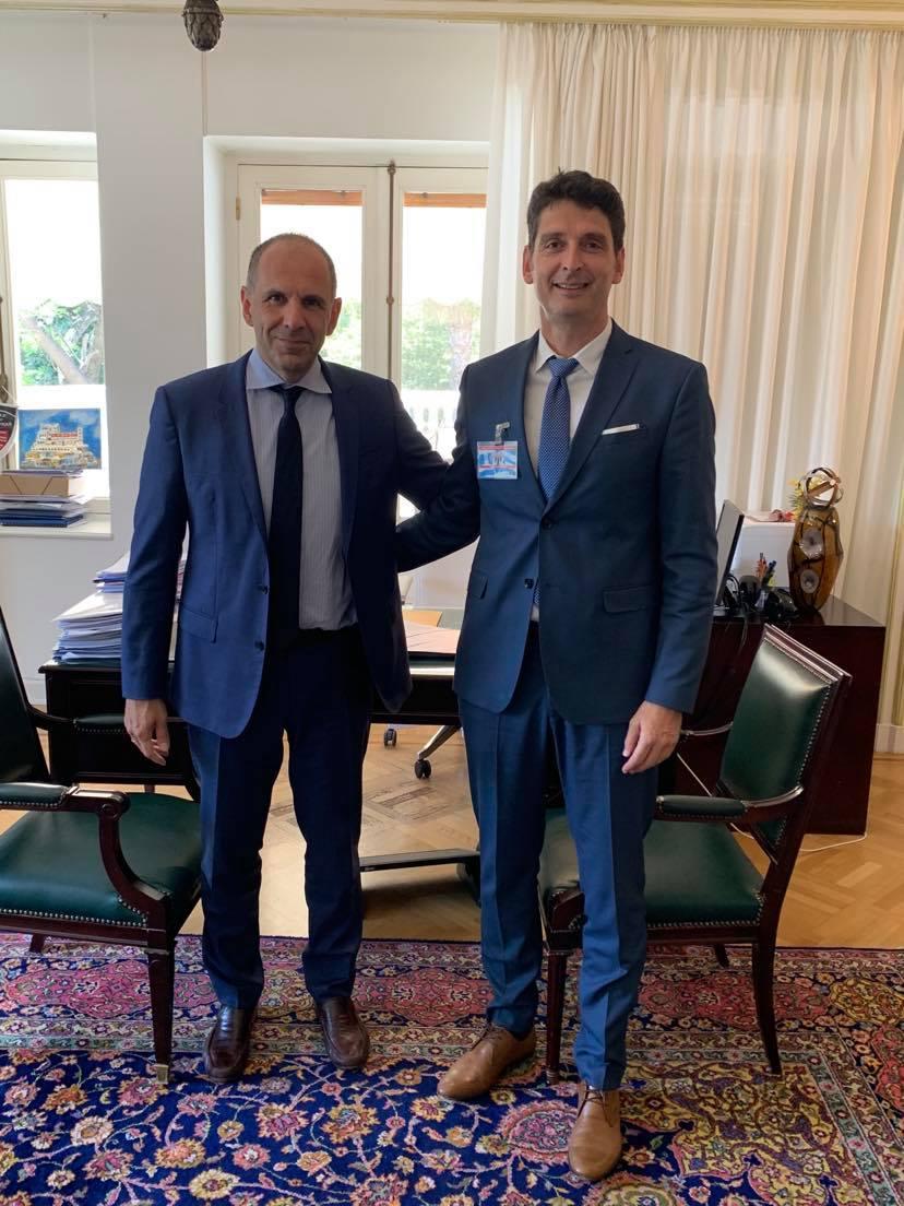 Σημαντικές συναντήσεις του Δημάρχου στην Αθήνα