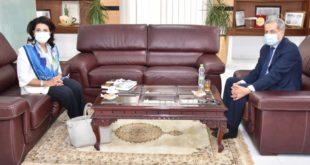 Επίσκεψη της Περιφερειάρχη Ι.Ν. στο Μαρόκο