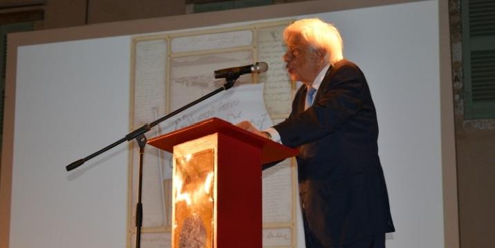 Η ομιλία του τ. Προέδρου Προκόπη Παυλόπουλου στο κηποθέατρο