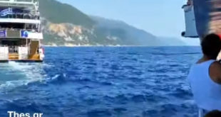 Λευκάδα: Τουριστικό σκάφος έμεινε ακυβέρνητο και ρυμουλκείται