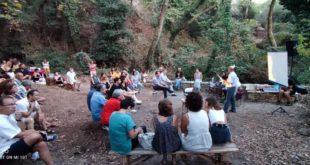 Η ποιητική βραδιά στο Κηποθέατρο Πηγών Δάφνης στον Σύβρο