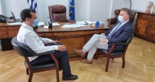 Συνάντηση του βουλευτή με την ηγεσία του υπουργείου Υγείας