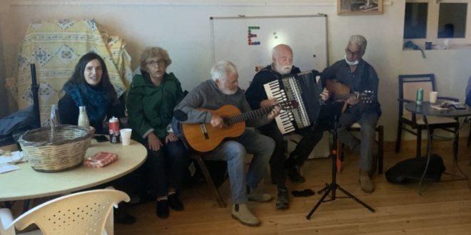 Πετυχημένη η βραδιά ελληνικού τραγουδιού στο Νιοχώρι!